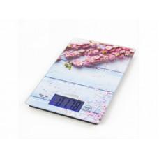 Весы кухонные электронные Marta MT-1633 цветы (8 кг)