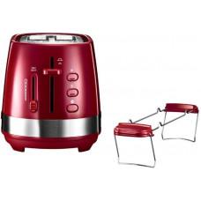 Тостер DeLonghi CTLA 2103.R (красный)