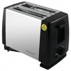 Тостер Vigor HX-6019 (пласт+нерж)
