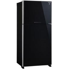 Холодильник SHARP SJ-XG60PGBK черный (стекло, FNF)