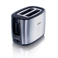 Тостер PHILIPS HD2658 серебристый/черный
