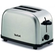 Тостер TEFAL TT 330D30 серебристый/черный