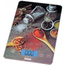 Весы кухонные BBK KS100G черный