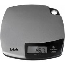 Весы кухонные BBK KS153M нержавеющая сталь/черный