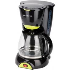 Кофеварка капельная POLARIS PCM1211 черный/желтый