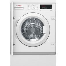 Встраиваемая стиральная машина BOSCH WIW24340OE белый (дозагрузка)