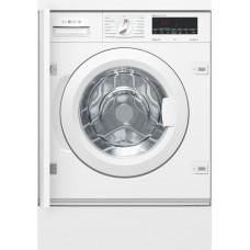 Встраиваемая стиральная машина BOSCH WIW28540OE белый (дозагрузка)