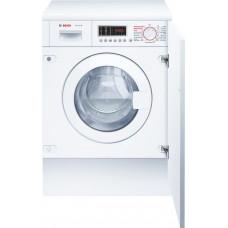Встраиваемая стиральная машина BOSCH WKD28541OE белый (сушка)