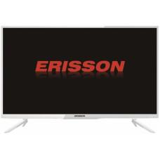 24 ERISSON 24HLE18T2W 1366x768, белый, 50 Гц, DVB-T, DVB-T2, DVB-C, HDMI, USB
