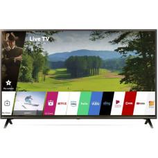65 LG 65UK6300 3840x2160, чёрный, Ultra HD, 50 Гц, Wi-Fi, Smart TV, DVB-T, DVB-T2, DVB-C, DVB-S2, AV, HDMI, USB  мощность звука 20 Вт, двойные ножки