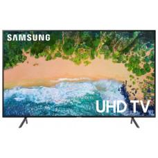 75 SAMSUNG 75NU7100 3840x2160, чёрный, Ultra HD, 50 Гц, WI-FI, SMART TV, AV, HDMI, USB, DVB-C, DVB-T2, DVB-S2