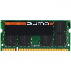 RAM SO-DIMM 2GB DDR2-800 PC2-6400 Qumo, CL6, 1.8V, retail (QUM2S-2G800T6)