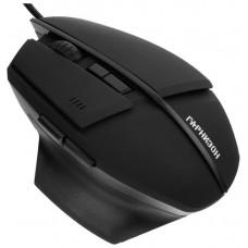 Мышь игровая Гарнизон GM-740G, Альтаир, Black, USB, софт тач, 2400 dpi, 6 кн.+колесо-кнопка
