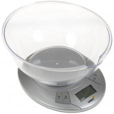 Весы кухонные электронные с чашей UNIT UBS-2155 (5 кг)