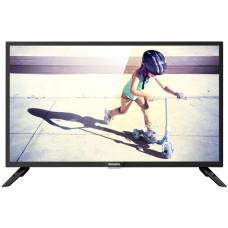 32 PHILIPS 32PHS4062/60 1366x768, чёрный, 50 Гц, DVB-T, DVB-T2, DVB-C, USB, HDMI