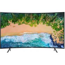 55 SAMSUNG 55NU7300 3840x2160, черный, Ultra HD, ИЗОГНУТЫЙ, 100 Гц, WI-FI, SMART TV, AV, HDMI, USB, DVB-C, DVB-T2, DVB-S2