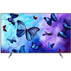 65 SAMSUNG 65Q6FNA 3840x2160, серебристый, QLED-телевизор, (квантовые точки), Ultra HD, 1000 Гц, WI-FI, SMART TV, пульт Smart Control, AV, HDMI,