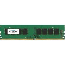 RAM 8GB DDR4-2400 PC4-19200 Crucial, CL17, 1.2V, Single Rank, retail (CT8G4DFS824A)