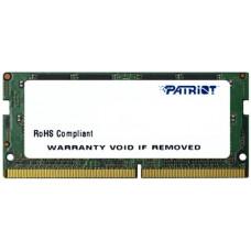 RAM SO-DIMM 4GB DDR4-2400 PC4-19200 Patriot SignatureLine, CL17, 1.2V, Retail (PSD44G240081S)
