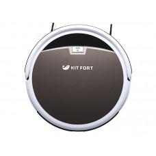 Пылесос-робот KITFORT КТ-519-4 коричневый/белый