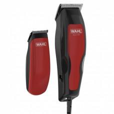 Машинка для стрижки WAHL 1395.0466  черный/красный (насадок в компл:8шт)
