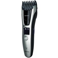 Триммер для бороды и усов PANASONIC ER-GB 70S520 серебристый/черный (насадок в компл:2шт)