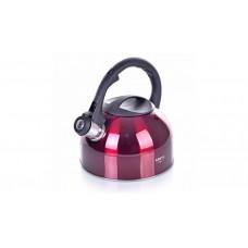 Чайник со свистком Greys KS-437 (2,5 л.вишнев)