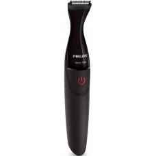 Триммер для бороды и усов PHILIPS MG1100/16 черный (насадок в компл:3шт)