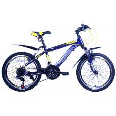 Велосипед Pioneer Combat T 13х20 blue/yellow/white