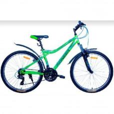 Велосипед Pioneer Favorite T 16х26 green/black/blue