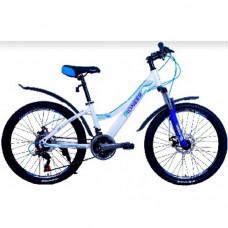 Велосипед Pioneer Fiesta 13х24 white/blue