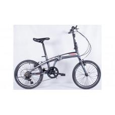 Велосипед Pioneer Figaro 13х20 gray/white/red