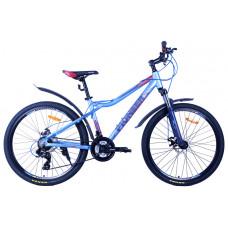 Велосипед Pioneer Fly T 16х26 lightblue/darkblue/red