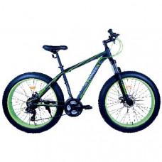 Велосипед Pioneer Leader T 19х26 black/green/grey