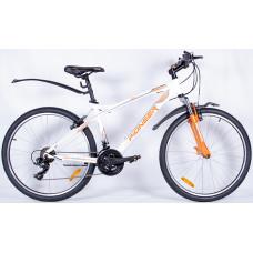 Велосипед Pioneer Mirage 17х26 white/orange/grey