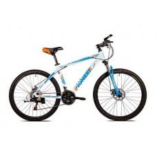Велосипед Pioneer Sky 17,5х26 white/blue/orange