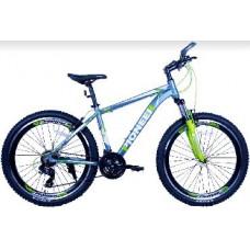 Велосипед Pioneer Sky T 17х26 grey/green/white