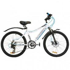 Велосипед Pioneer Tornado 15х24 white/black/blue