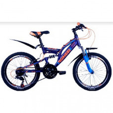 Велосипед Pioneer Triumph T 13х20 darkblue/blue/orange