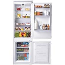 Встраиваемый холодильник CANDY CKBBS 172 F белый (двухкамерный)