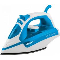 Утюг SCARLETT SC-SI30P17 белый/голубой