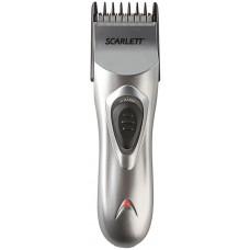 Машинка для стрижки SCARLETT SC-160 серебристый (насадок в компл:1шт)