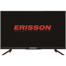 24 ERISSON 24HLE22T2SM чёрный 1366x768, HD READY, 50 Гц, WI-FI, Smart TV, DVB-T, DVB-T2, DVB-C, HDMI, USB