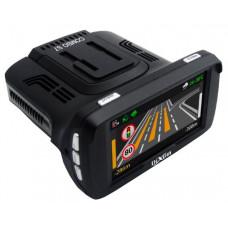 DVR Dixon S7 COMBO, 3 в 1: Авторег/Радар-детектор/GPS Информер, 2304x1296/2560x1080/30 fps/170°, Lens 6G glass, MP4 (H.264), LCD 2.7 HD, GPS, microSD (до 128GB), HDMI, USB, CPU Ambarella A7LA50, сенсор OV4689