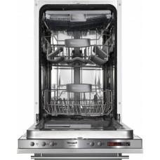 Встраиваемая посудомоечная машина Weissgauff BDW 4138 D ( 10 комп.3 корз 45 см)