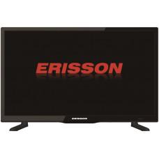 20 ERISSON 20HLE20T2 чёрный 1366x768, HD READY, 50 Гц, DVB-T, DVB-T2, DVB-C, HDMI, USB