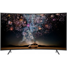 65 SAMSUNG 65RU7300 серебристый 3840x2160, Ultra HD, ИЗОГНУТЫЙ, 100 Гц, WI-FI, SMART TV, пульт Smart Control, AV, HDMI, USB, DVB-C, DVB-T2