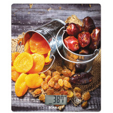 Весы кухонные SCARLETT SC-KS57P33 рисунок/сухофрукты