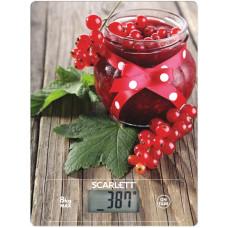 Весы кухонные SCARLETT SC-KS57P36 рисунок/красная смородина