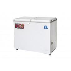 Холодильник+ларь Willmark CFC-331MDD(327 л,t+10*-24*.2 камер.хол178 л.+мороз со стеклом149 л)